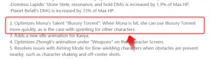 Mona 1.3 Update