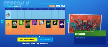 Earn Other Cosmetics from Battle Pass