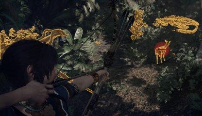 Shadow of the Tomb Raider Hunting Wildlife