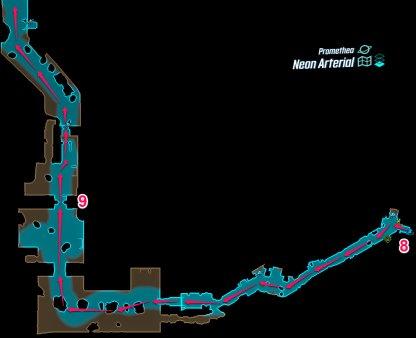 Promethea - Neon Arterial Map 1