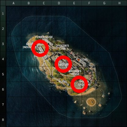 Zombie Spawn Locations Reference