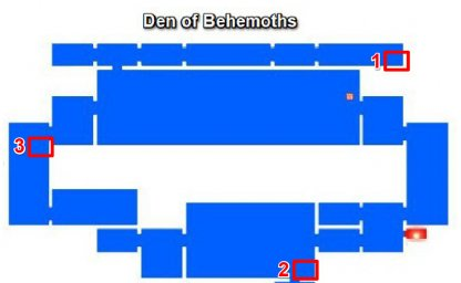 Den of Behemoths - Breakable Walls & Secret Rooms