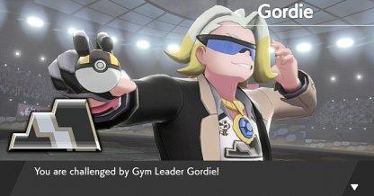 Rocky Type Gym Leader Gordie