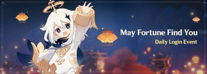 May Fortune Find You Event Start & End