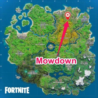 Mowdown Location