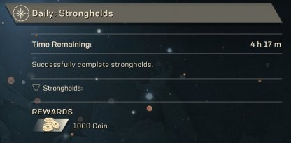 Anthem Complete Daily Missions