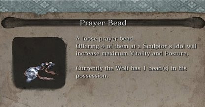 Prayer Bead Locations