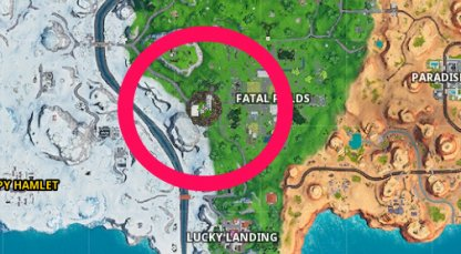 Floating Island Shows Up in the Map