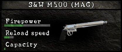 S&W M500 MAG