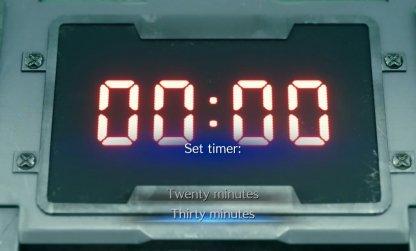 Choose Between 20 Or 30 Minutes