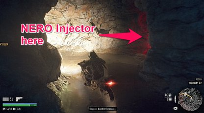 NERO Injector Is Inside A Cave