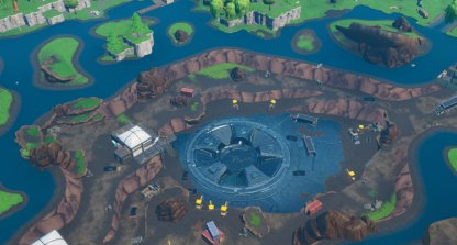 The Exposed Vault in Loot Lake