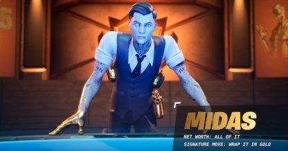Midas is a Battle Pass Skin