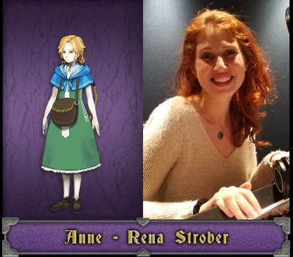 Anne English Voice Actor - Rena Strober