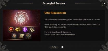 Entangled Borders