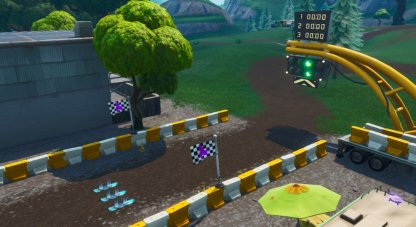 Fortnite | Complete a Lap of a Grasslands Race Track (Week 5) - Location