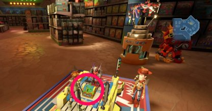 Toy Box - Treasure Chest & Lucky Emblem Locations Hall 1F
