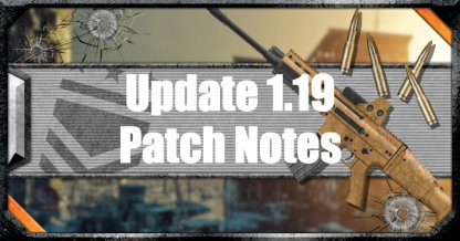 Latest Patch Notes