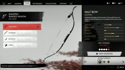 Half Bow Dye