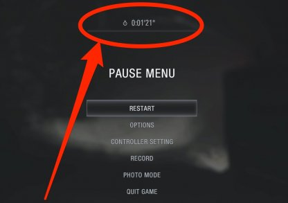 Stop Time By Opening Options Or Map