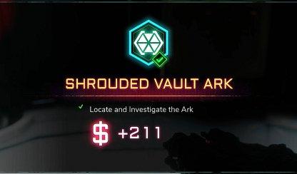 Clears Shrouded Vault Ark Activity