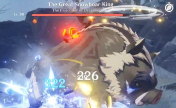 The Great Snowboar King