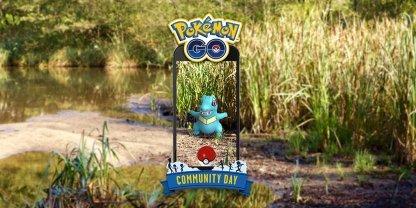 Pokemon Go January Community Day - Totodile