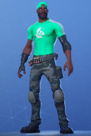 Skin Outfit LT. LOGO