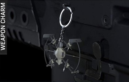 Equip Weapon Charms to Your Guns