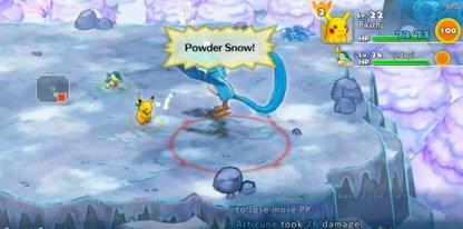 Powder Snow Can Freeze You