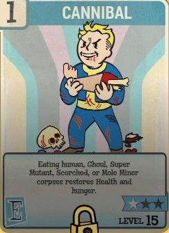 Cannibal Perk Card