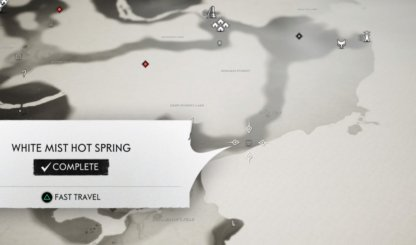 White Mist Hot spring