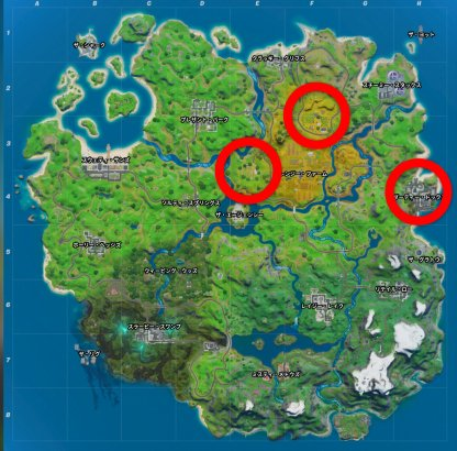 All Best Locations Map