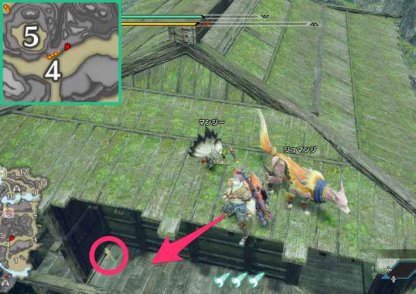 Rampage - Shrine Ruins Relic Record Locations Note 1