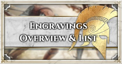 Engravings Overview & List