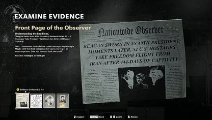 Front Page Of The Observer