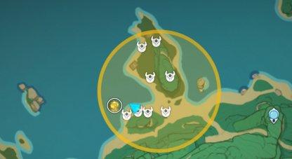 Treasure Area 10 - Iron Coin Locations