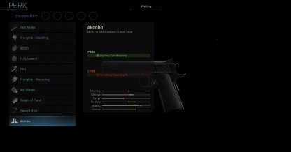 Akimbo Stats & Overview