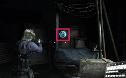 Emblem Location 2 - Inside Truck