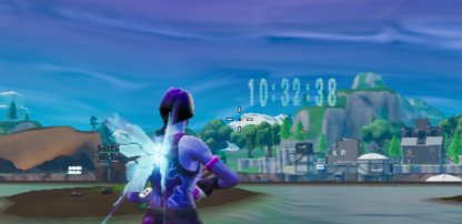 Event Countdown Appeared Over the Vault in Loot Lake
