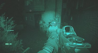 Wear Night Vision Goggles To See Better