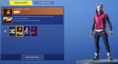Skins From Item Shop & Battle Pass