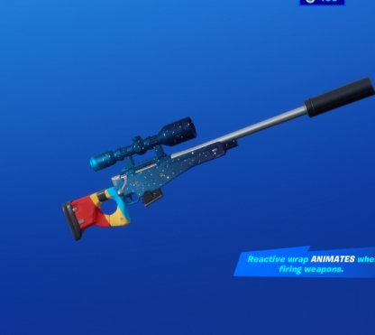 HAPPY STARS Wrap - Sniper Rifle