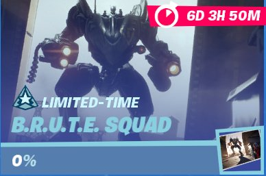 B.R.U.T.E. Squad Limited Time Mission