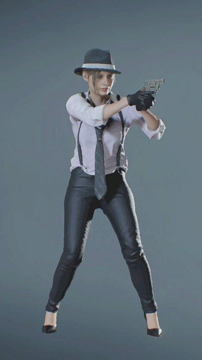 Claire - NOIR Pistol Front