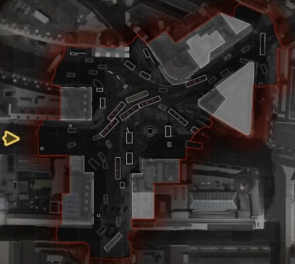 Map layout - piccadily