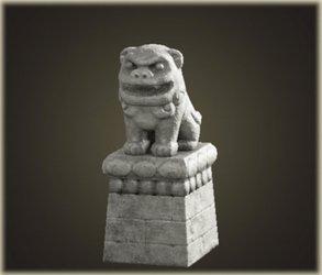 Stone Lion-Dog