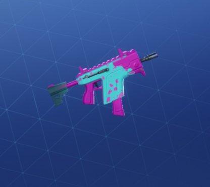 PINK SPLATTER Wrap - Submachine Gun