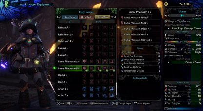 Optimize Builds For Master Rank Hunts