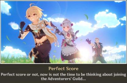 Ending 3: Perfect Score